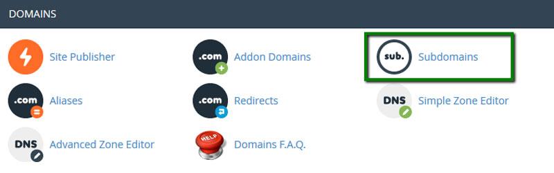 راهاندازی wildcard برای Subdomains