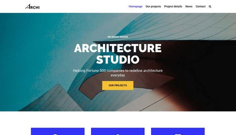 دانلود قالب شرکتی وردپرس Neve Architecture