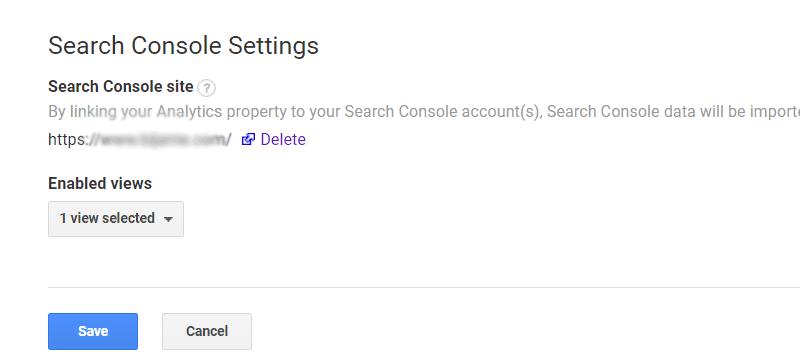 اضافه کردن گوگل کنسول به گوگل آنالیز