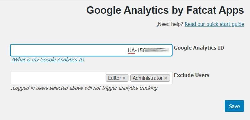 گوگل آنالیتیکس به وردپرس با افزونه Analytics Cat