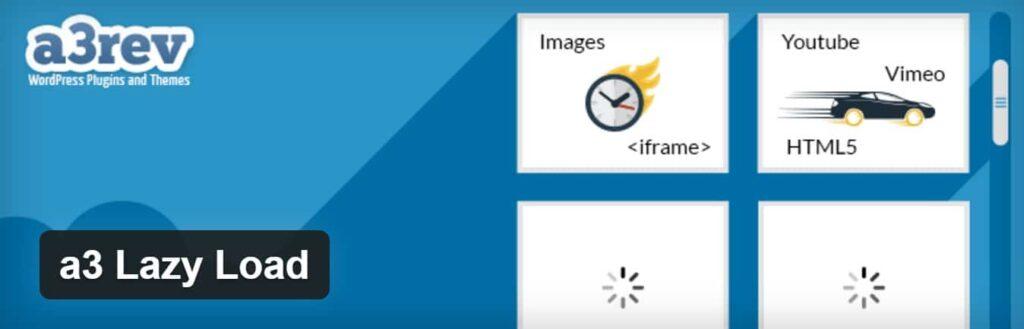 Lazy Load کردن تصاویر با افزونه وردپرس a3 Lazy Load