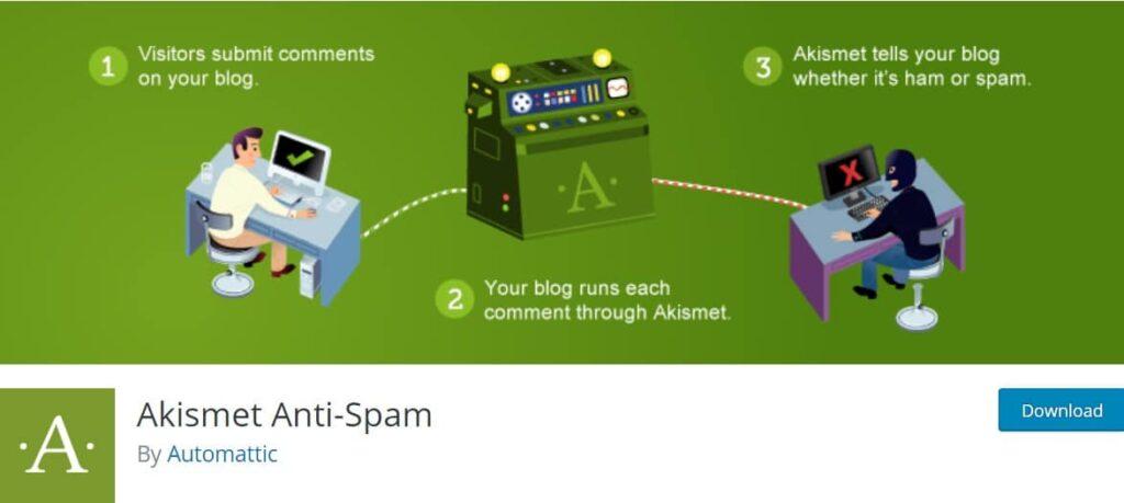 افزونه وردپرس Akismet Anti-Spam