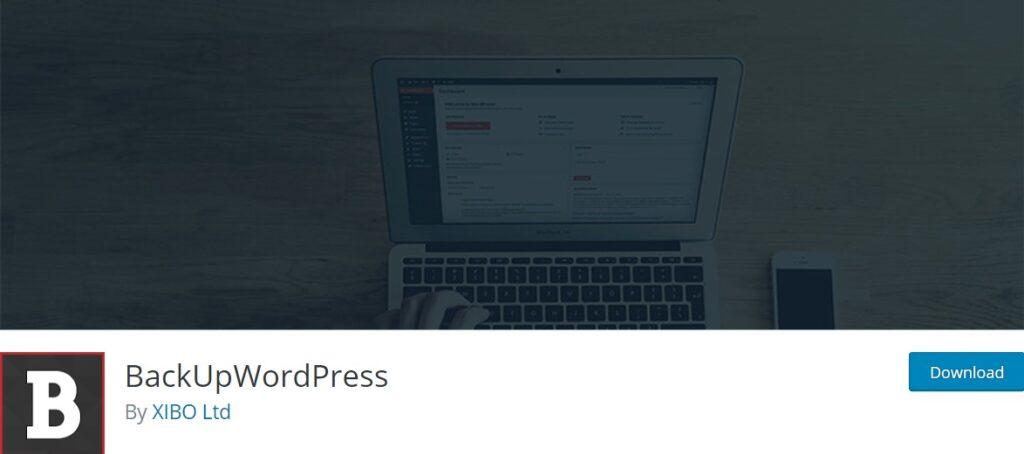 افزونه پشتیبان گیری BackUpWordPress