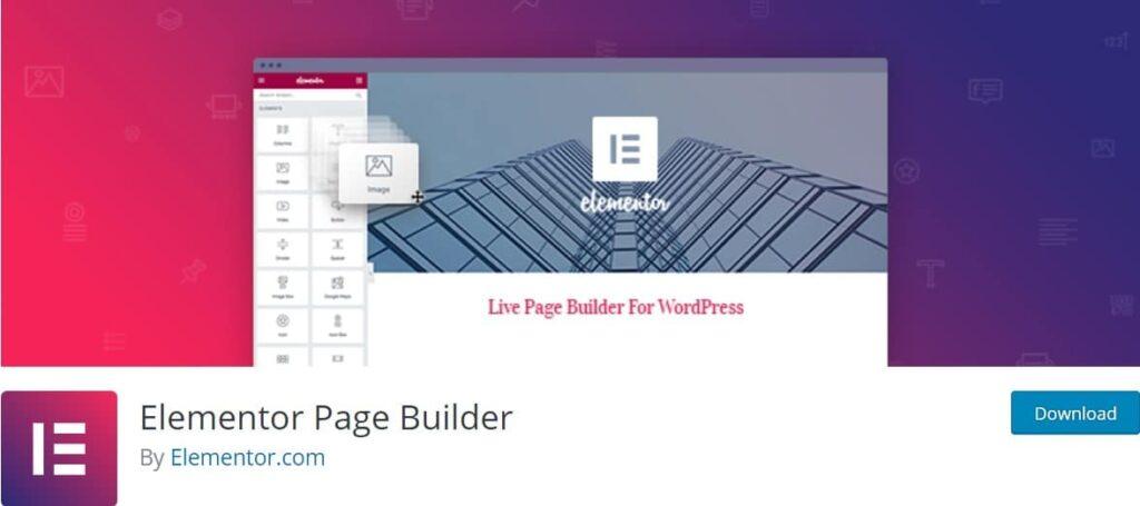 افزونه Elementor Page Builder