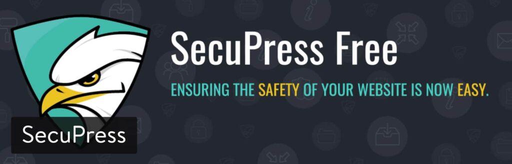 افزونه امنیتی وردپرس SecuPress Free