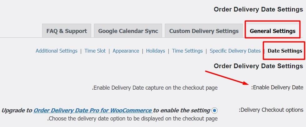 ایجاد زمان تحویل در ووکامرس با افزونه Order Delivery Date