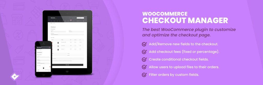 WooCommerce Checkout Manager افزونه ی